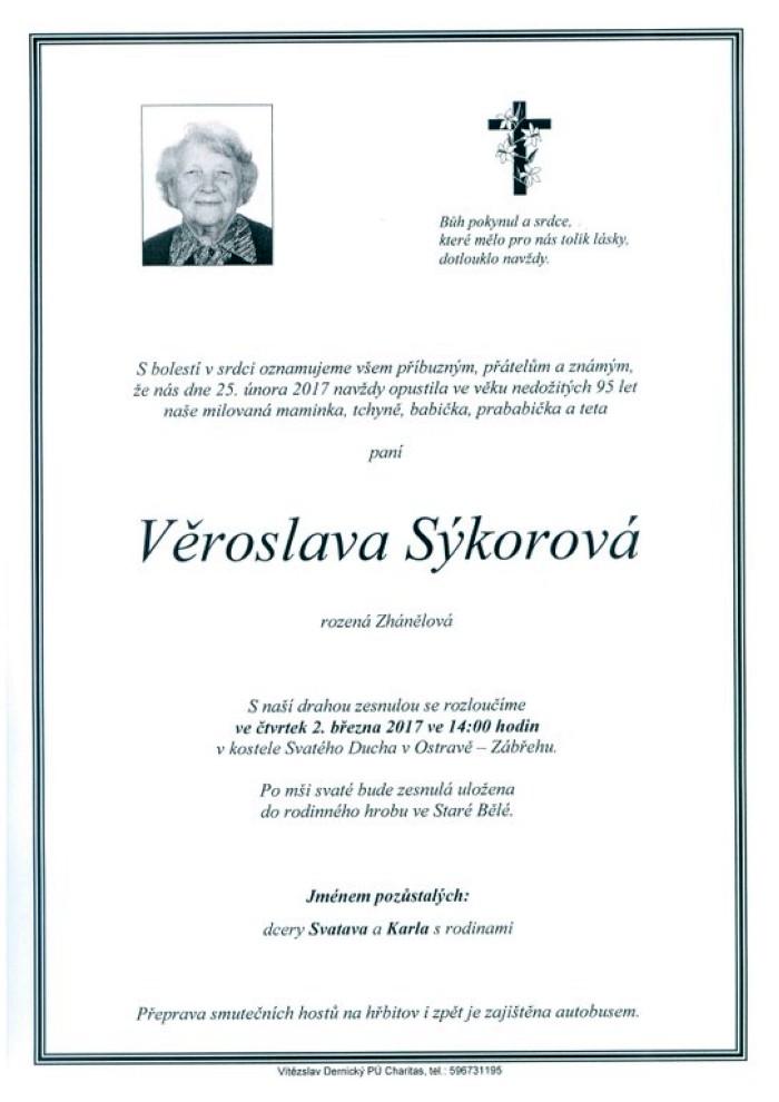 Věroslava Sýkorová