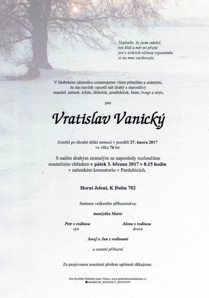 Vratislav Vanický