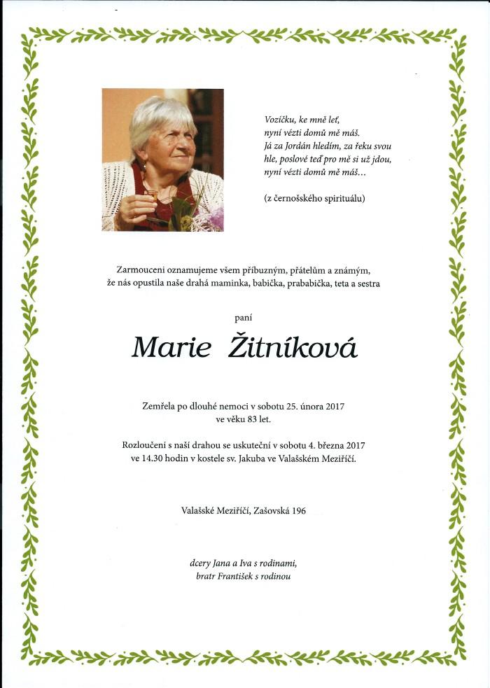 Marie Žitníková