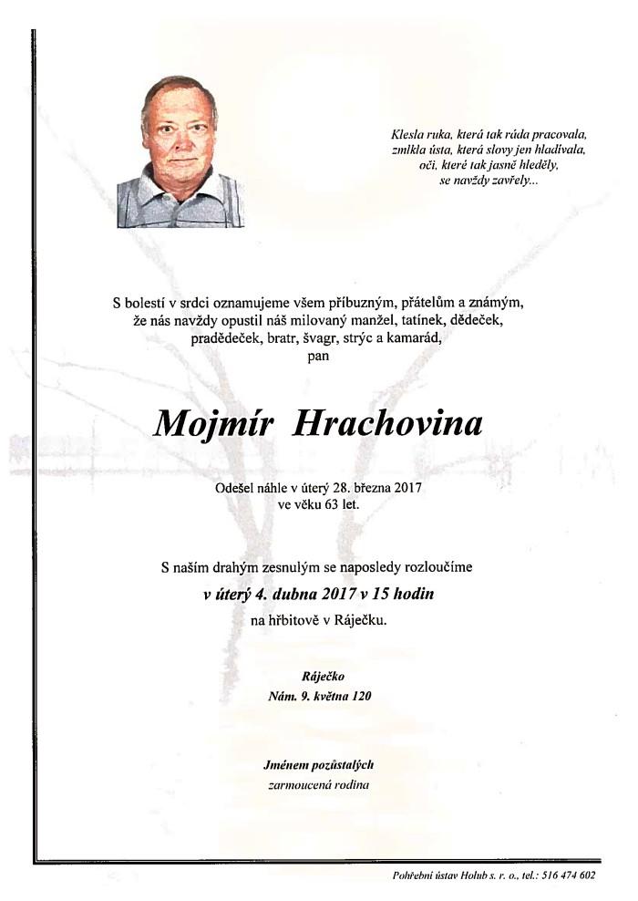 Mojmír Hrachovina