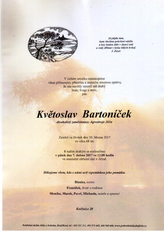 Květoslav Bartoníček
