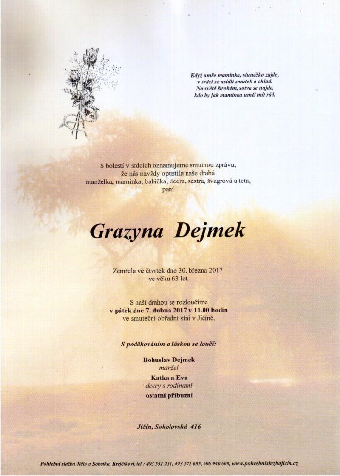 Grazyna Dejmek