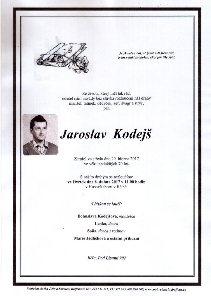 Jaroslav Kodejš