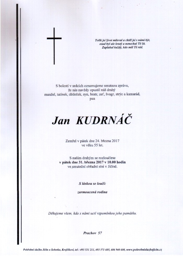 Jan Kudrnáč
