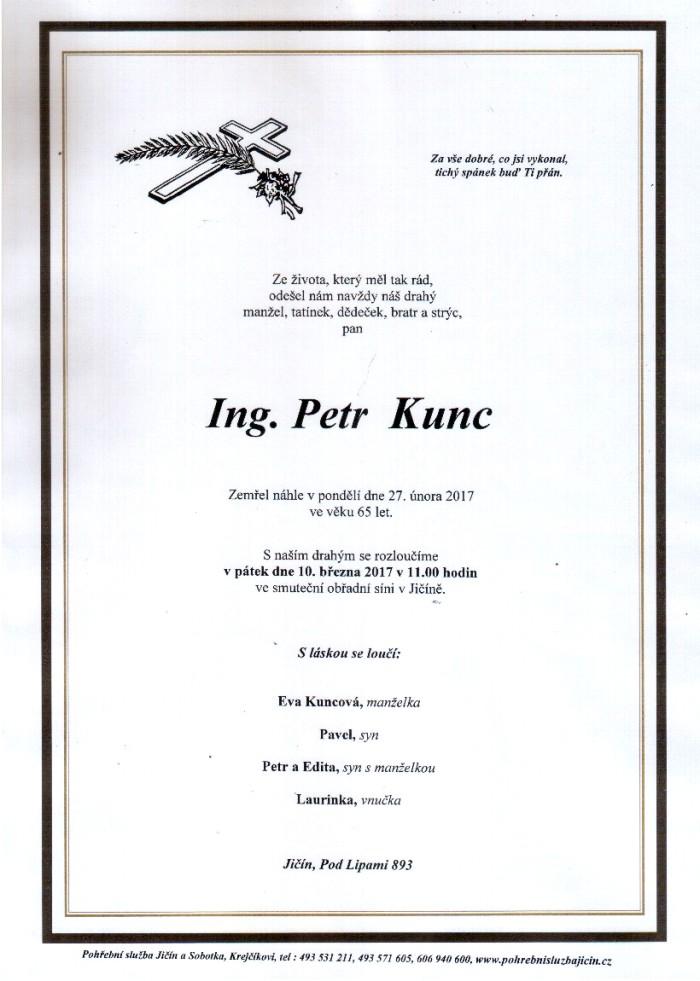 Ing. Petr Kunc