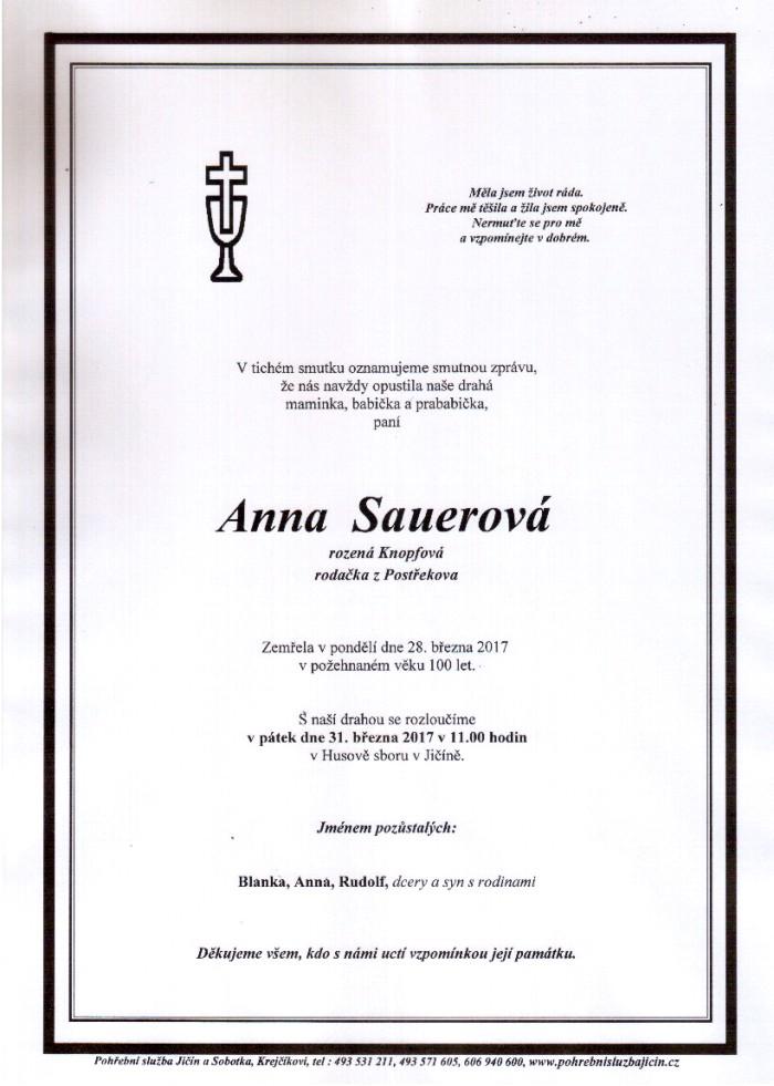 Anna Sauerová