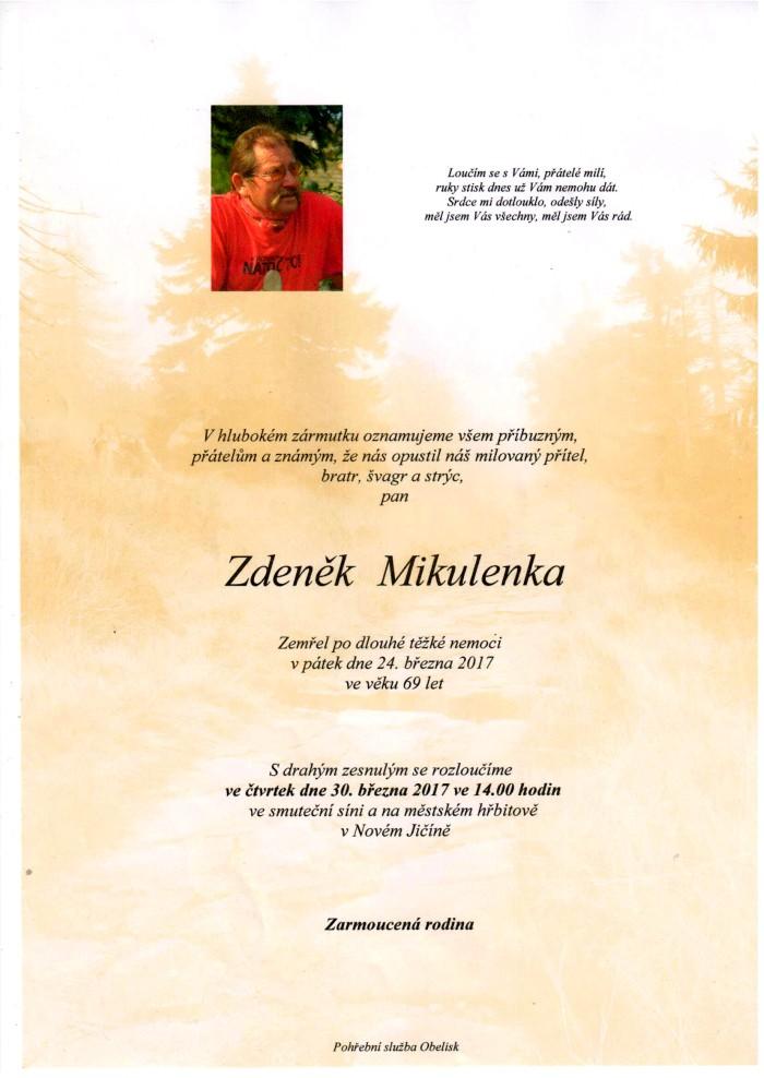 Zdeněk Mikulenka