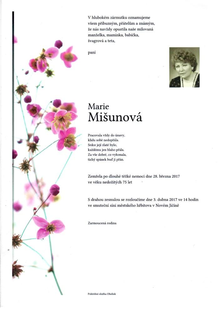 Marie Mišunová