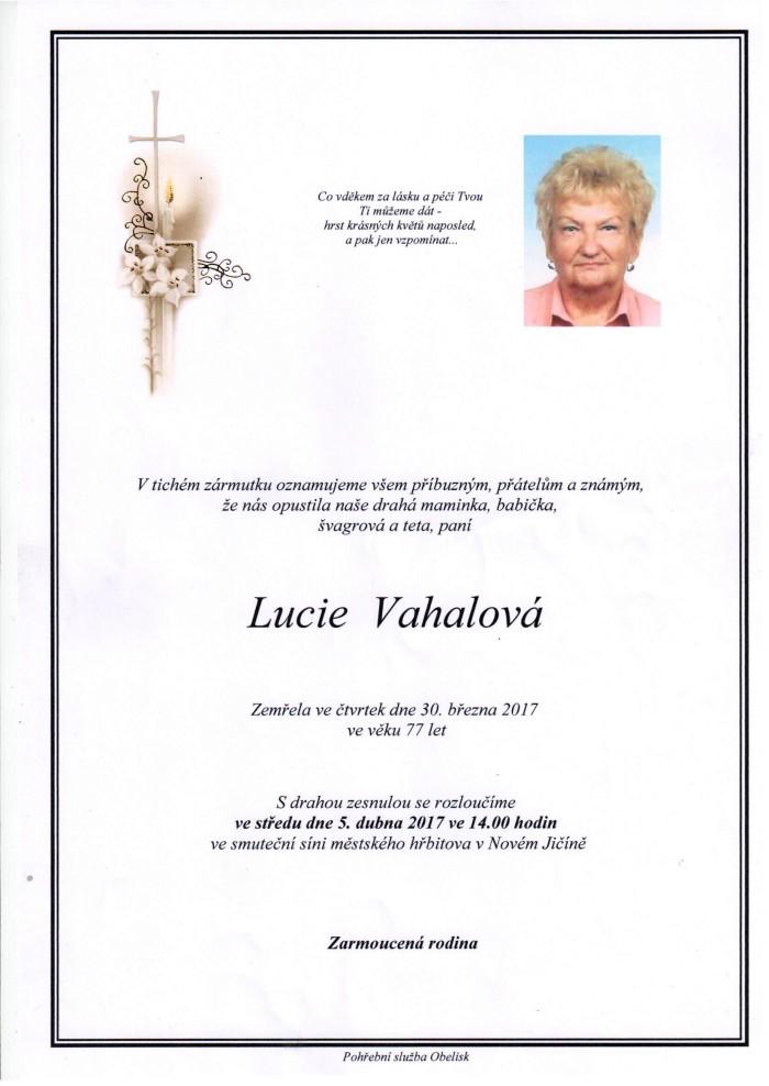 Lucie Vahalová