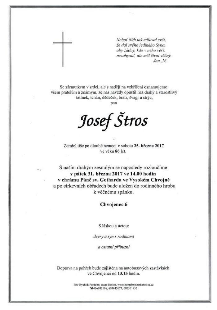 Josef Štros