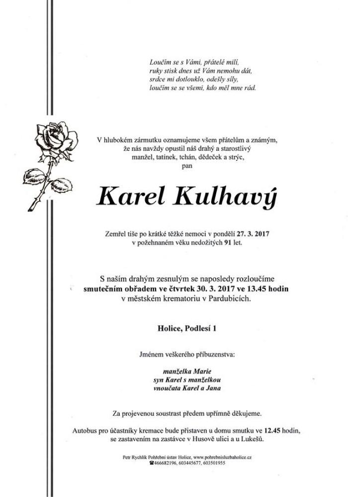 Karel Kulhavý