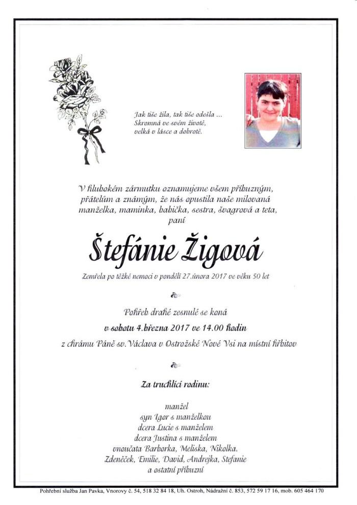 Štefánie Žigová