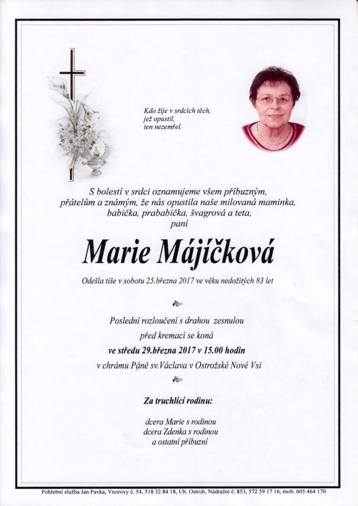 Marie Májíčková