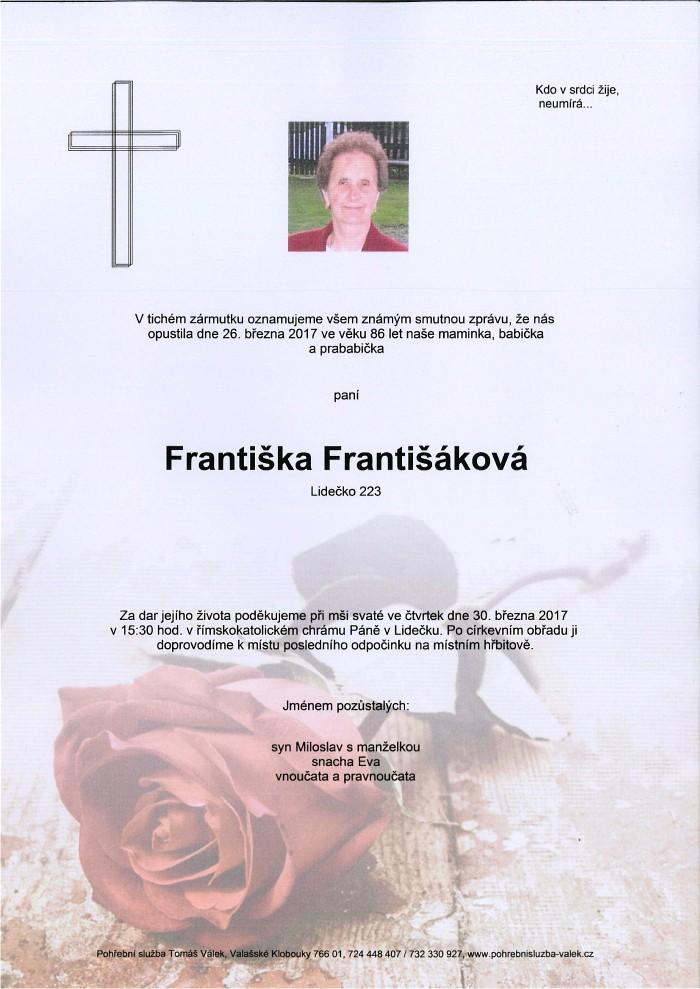 Františka Františáková