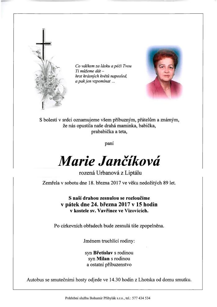Marie Jančíková
