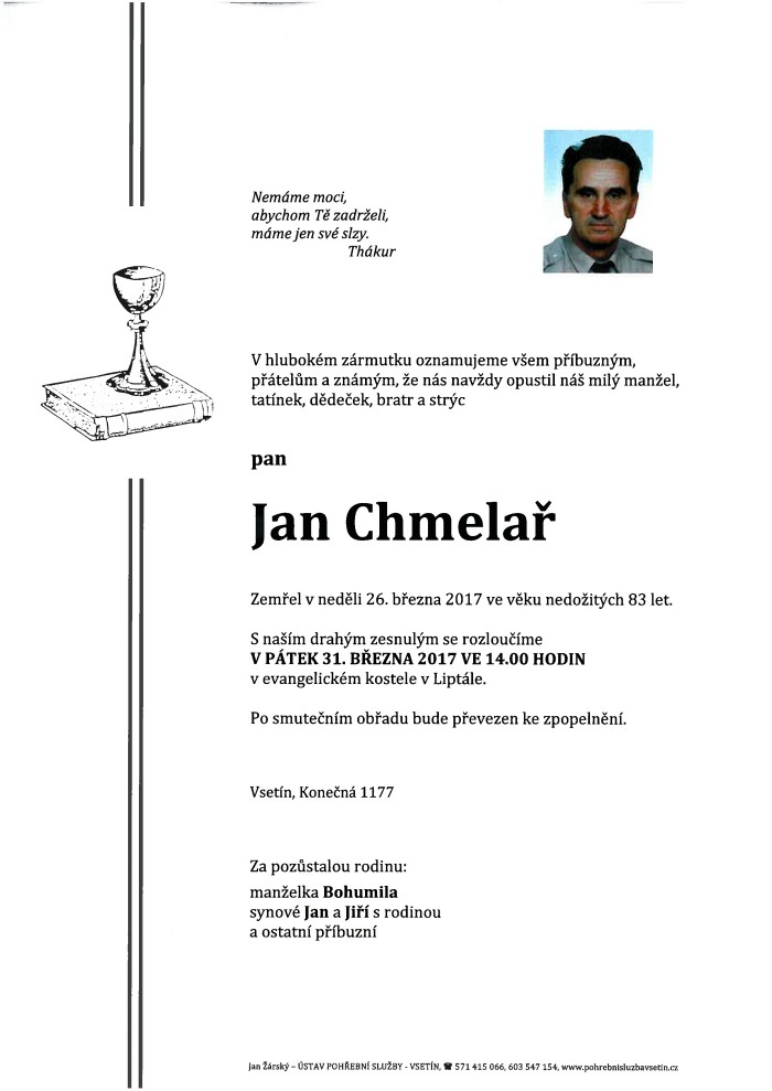 Jan Chmelař