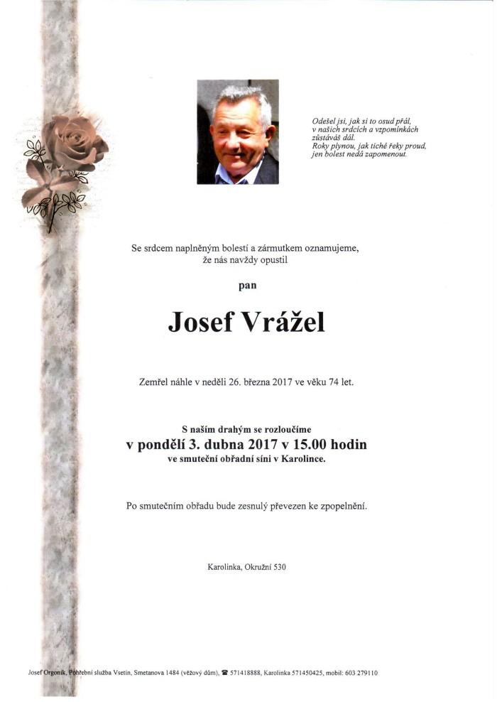Josef Vrážel