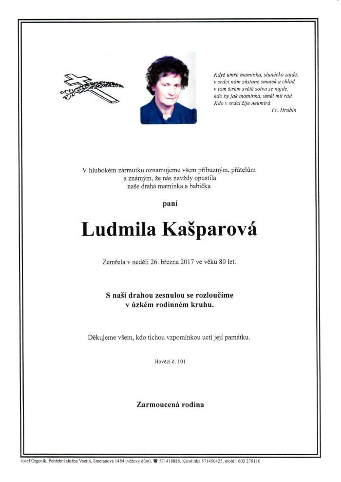 Ludmila Kašparová