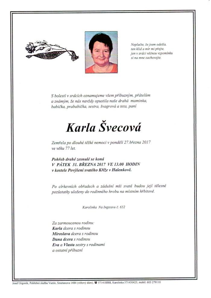 Karla Švecová