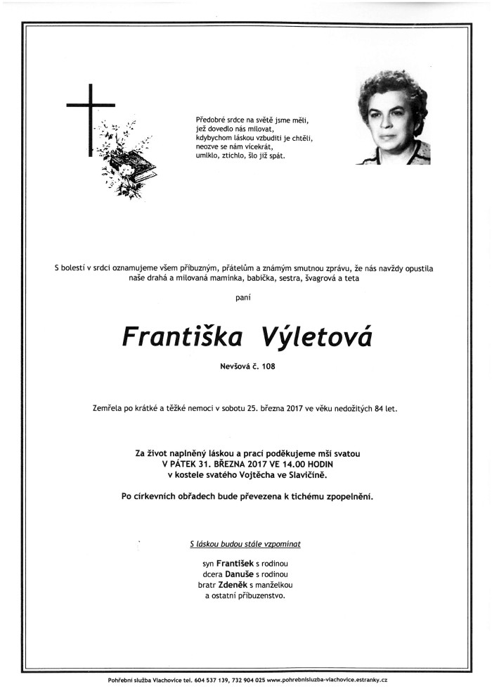Františka Výletová