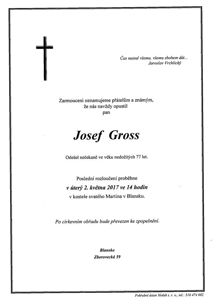 Josef Gross