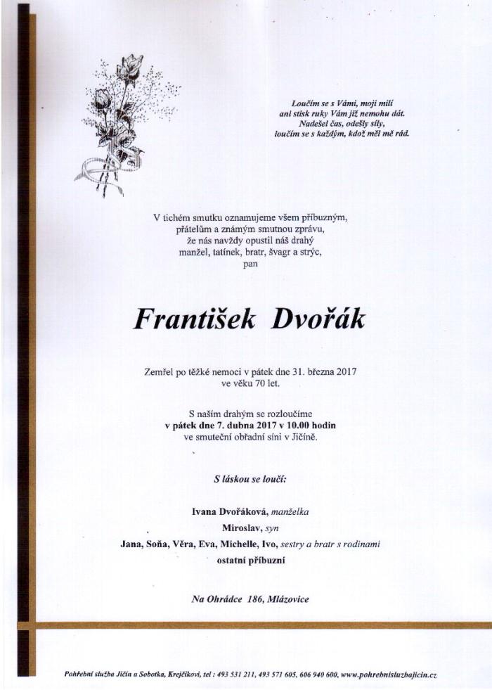 František Dvořák