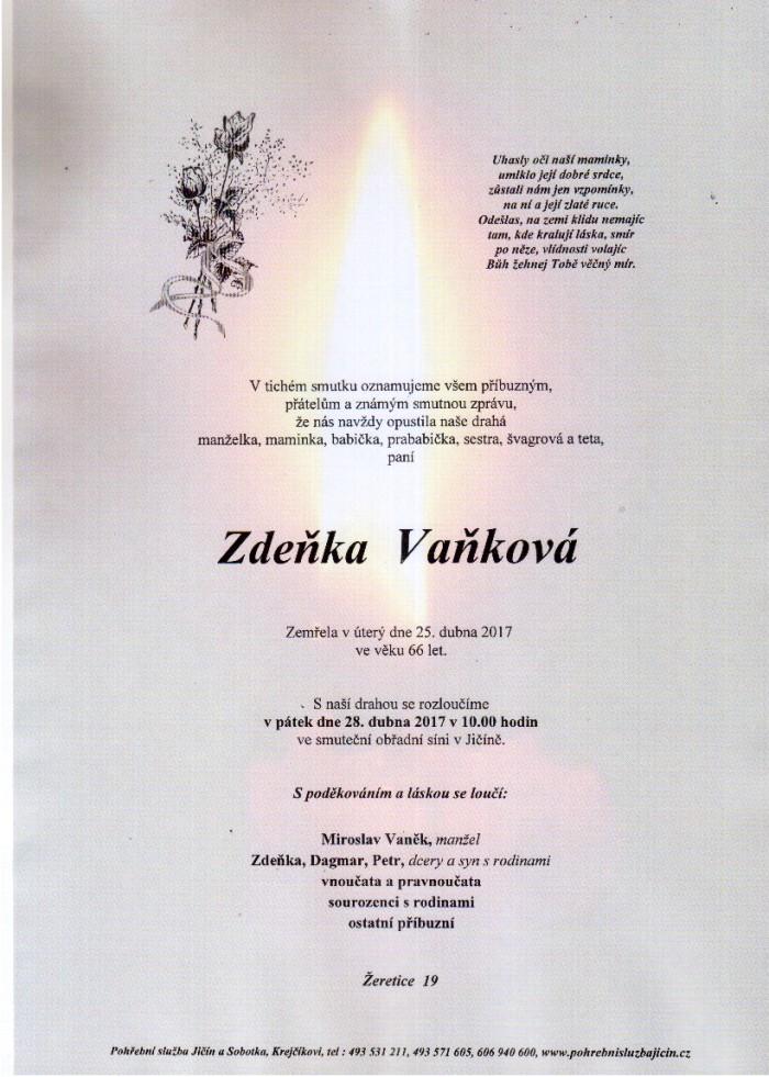 Zdeňka Vaňková