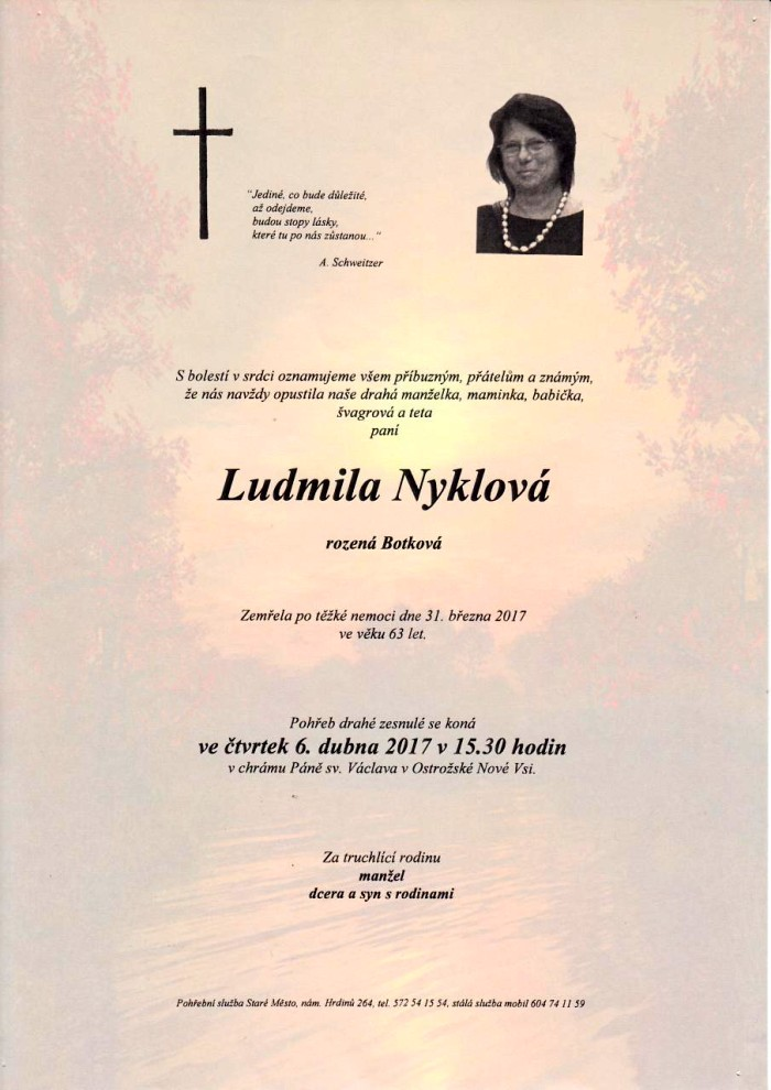Ludmila Nyklová
