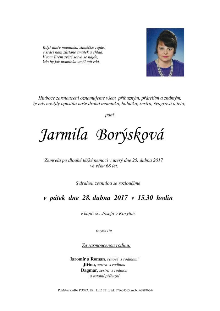 Jarmila Borýsková