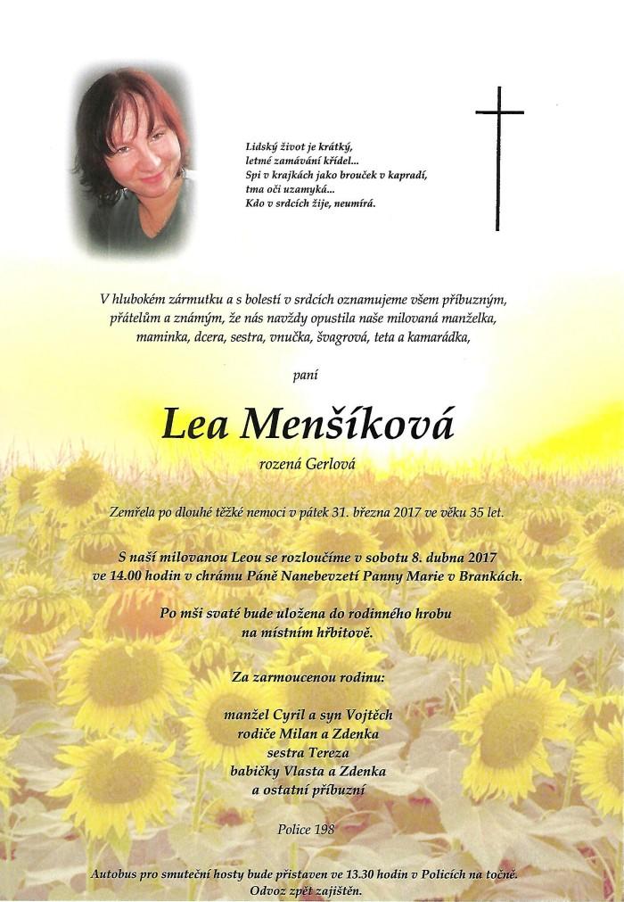 Lea Menšíková