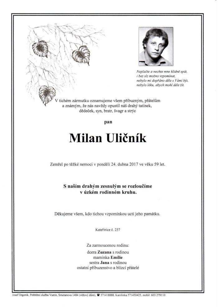 Milan Uličník
