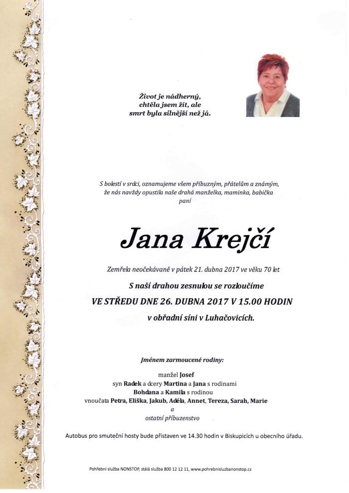 Jana Krejčí