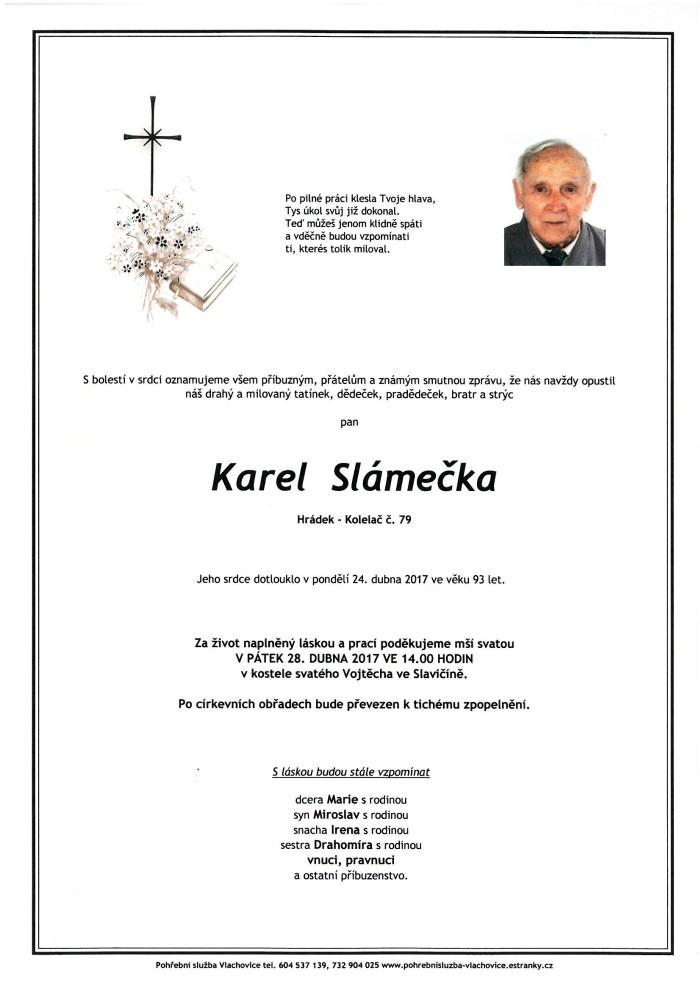 Karel Slámečka