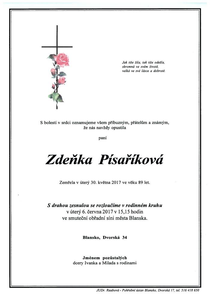 Zdeňka Písaříková