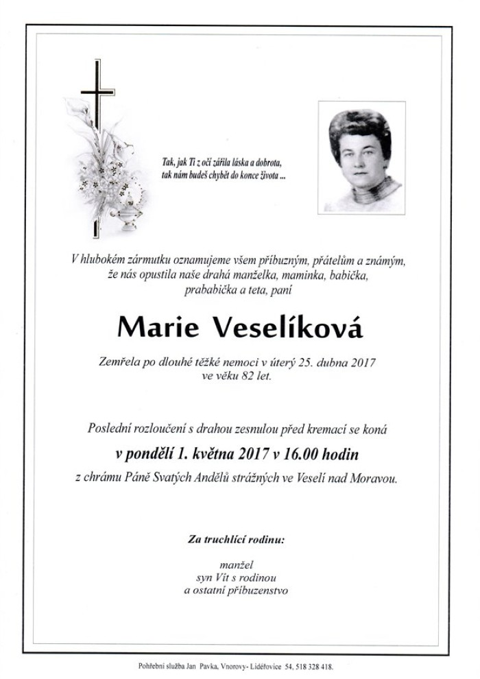 Marie Veselíková