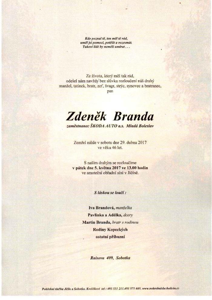 Zdeněk Branda
