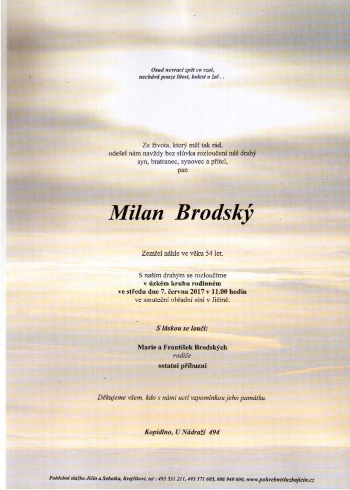 Milan Brodský