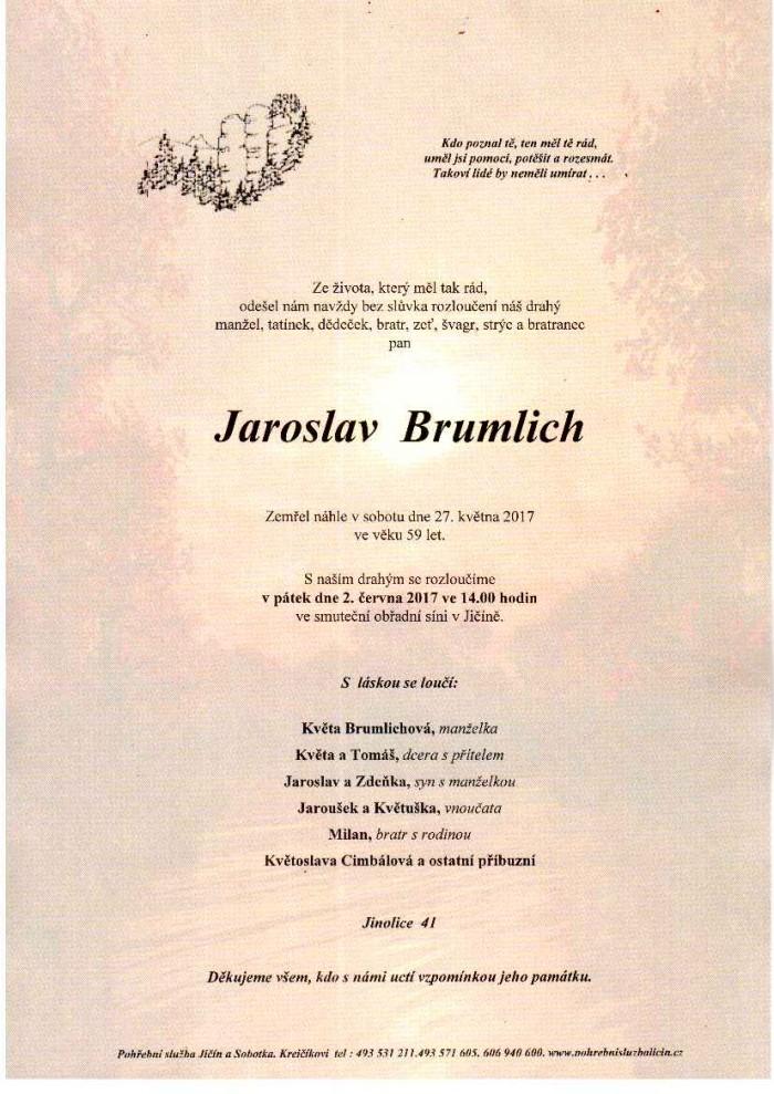 Jaroslav Brumlich