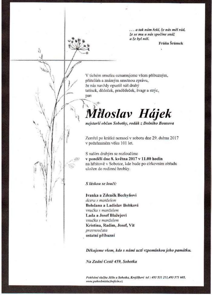 Miloslav Hájek