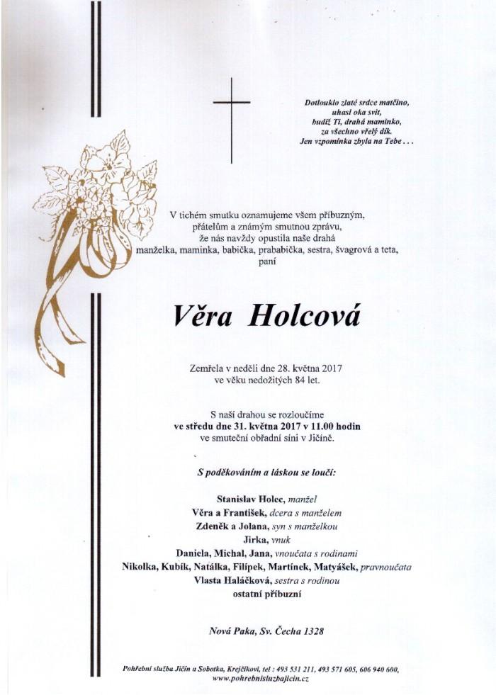 Věra Holcová