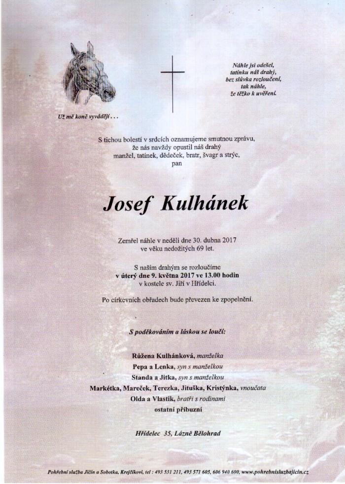 Josef Kulhánek