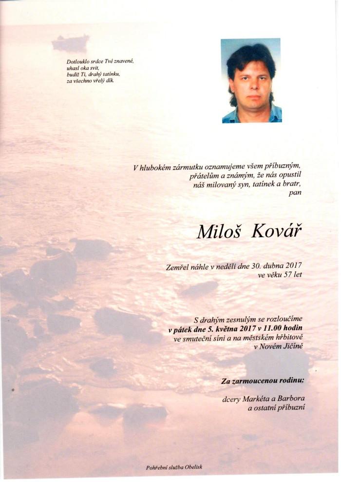 Miloš Kovář
