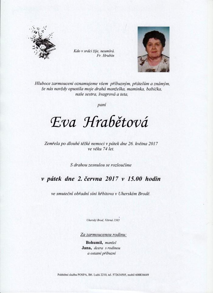 Eva Hrabětová