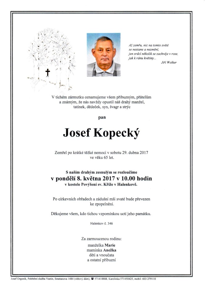 Josef Kopecký