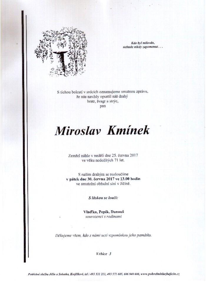 Miroslav Kmínek