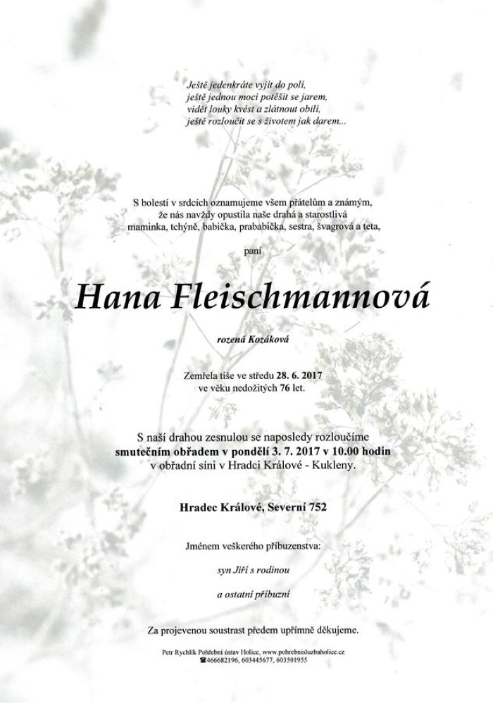 Hana Fleischmannová