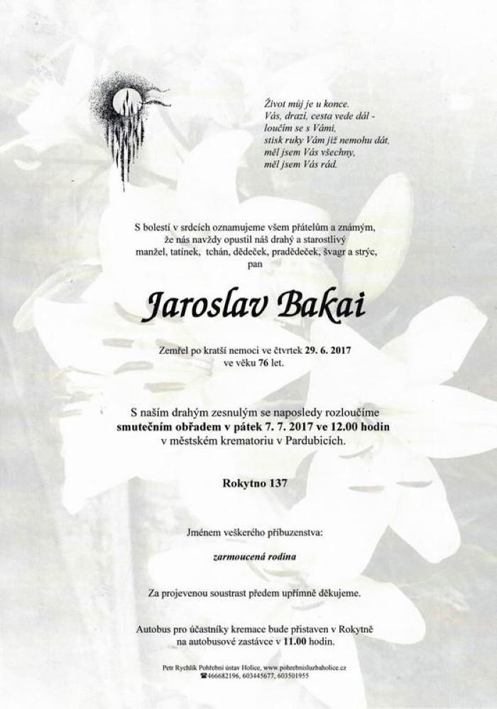 Jaroslav Bakai
