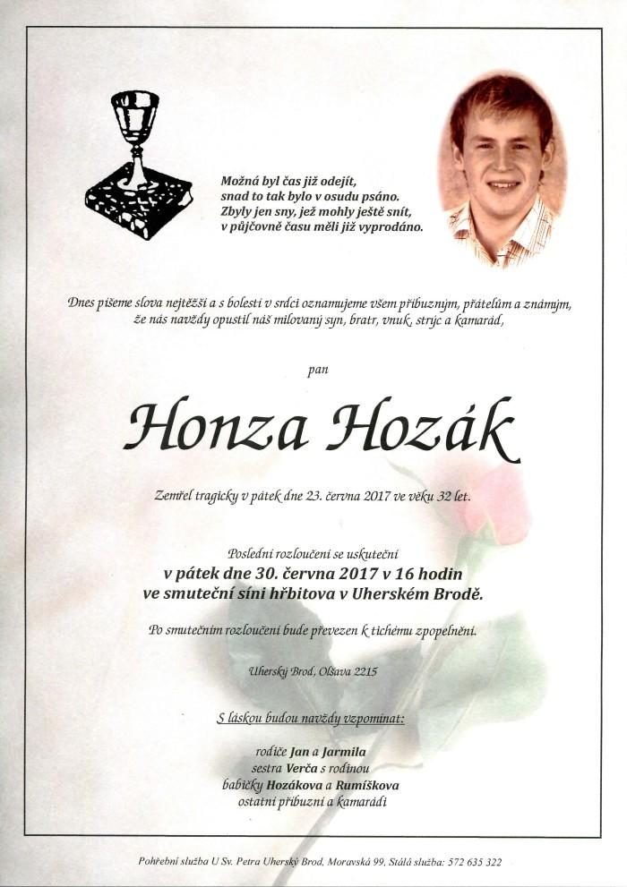 Honza Hozák