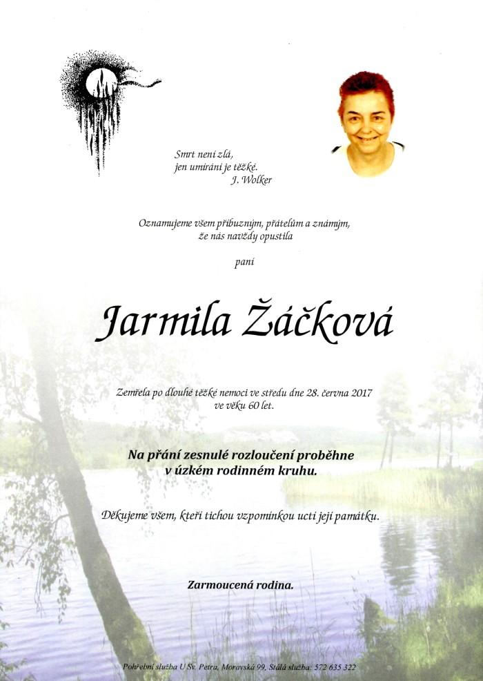 Jarmila Žáčková