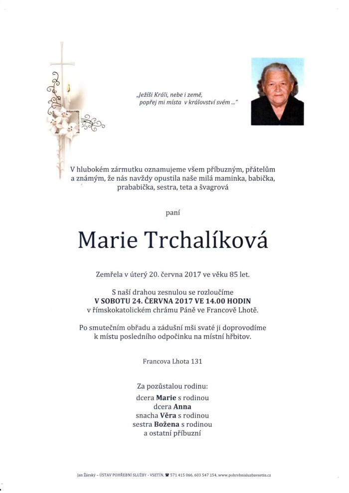 Marie Trchalíková